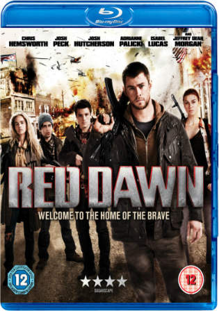 Red Dawn 2012 BluRay 720p 700MB Dual Audio ( Hindi – English ) ESubs MKV