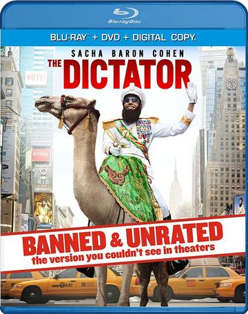 Watch Online The Dictator 2012 Movie Hindi BluRay Dual Audio 675MB UNRATED 720p Full Movie Download mkvcage