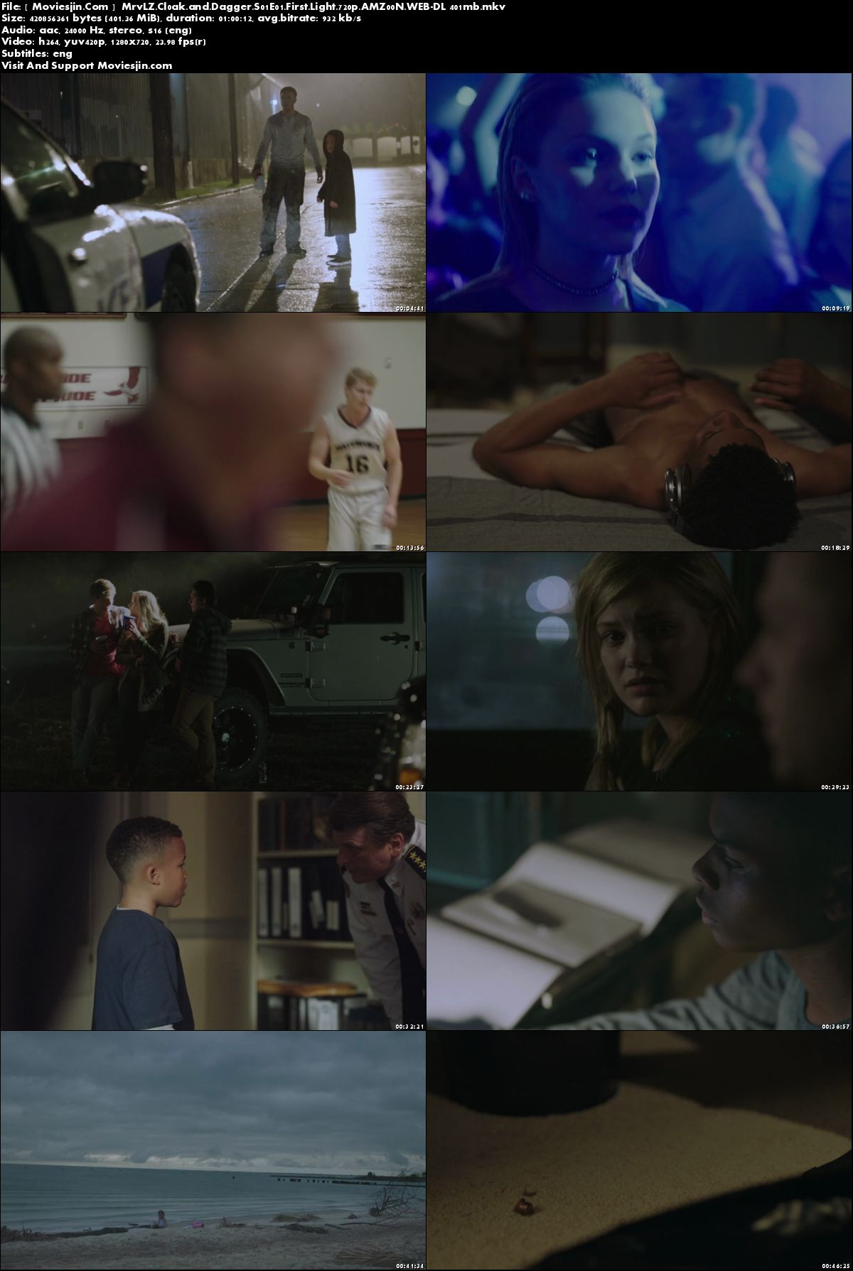 Watch Online Cloak And Dagger S01E01 WEBDL 405MB 720p ESub Full Movie Download mkvcage