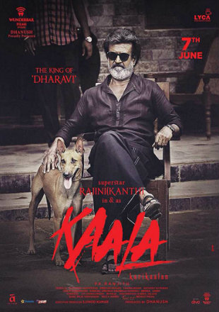 Kaala 2018 Pre DVDRip 450MB Full Hindi Dubbed Movie Download 480p