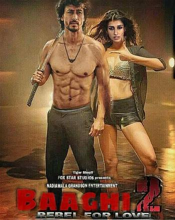 Watch Online Baaghi 2 2018 Movie HDRip Proper Hindi Volume 02 720p Full Movie Download mkvcage