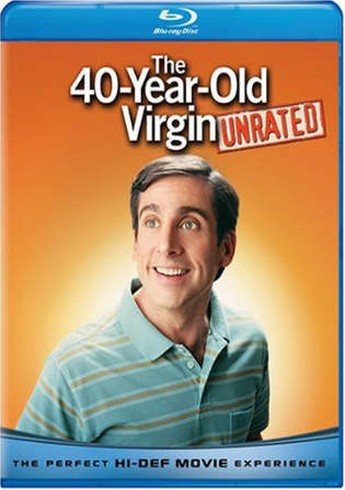 The 40 Year Old Virgin 2005 BRRip 400Mb UNRATED Hindi Dual Audio 480p Watch Online Full Movie Download bolly4u