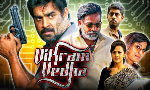 Vikram Vedha 2018 HDRip 350MB Hindi Dubbed 480p Watch Online Full Movie Download bolly4u