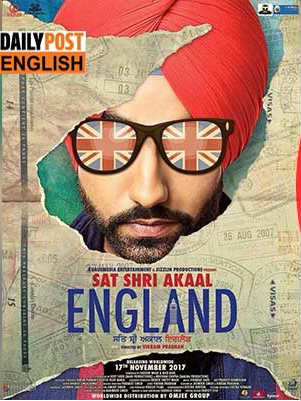 Sat Shri Akaal England 2017 HDRip 350MB Full Punjabi Movie Download 480p Watch Online Free bolly4u