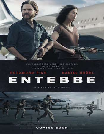 Watch Online 7 Days in Entebbe 2018 Movie English WEBDL 845MB 720p ESub Full Movie Download mkvcage