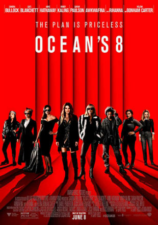 Oceans 8 2018 HDCAM 700MB English 720p Watch Online Full Movie Download bolly4u