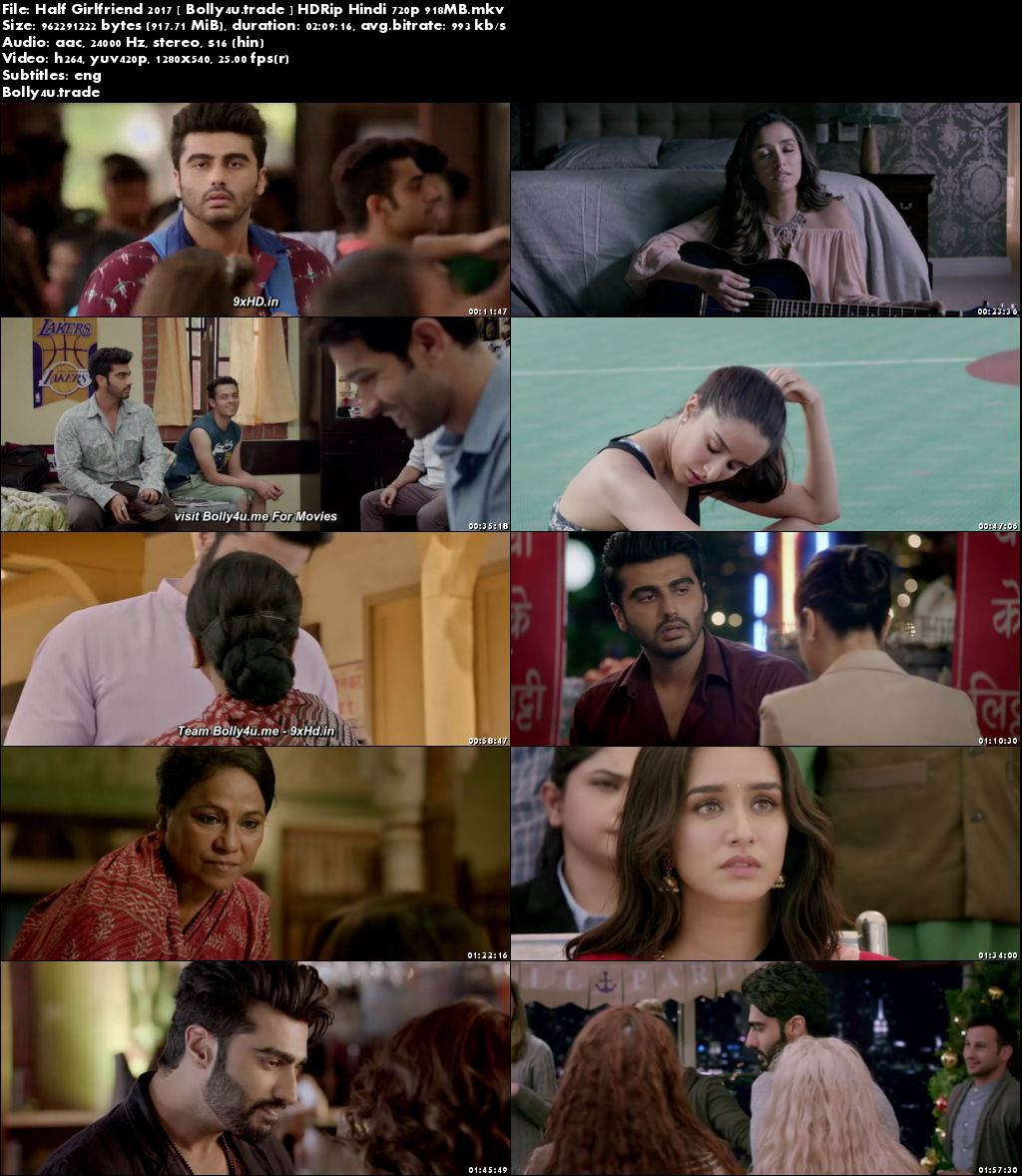 Half Girlfriend 2017►Two Thousand Seventeen►Two Thousand Seventeen HDRip 900Mb Hindi Movie (720p►1280 x 720 pixels) Download