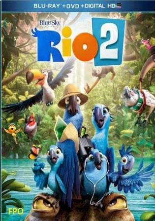 Rio 2 2014 BluRay 300MB Hindi Dual Audio 480p Watch Online Full Movie Download bolly4u