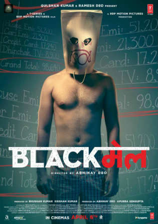 Blackmail 2018 HDRip 400MB Full Hindi Movie Download 480p