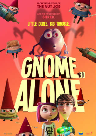 Gnome Alone 2017 WEB-DL 250MB English 480p Watch Online Full Movie Download bolly4u
