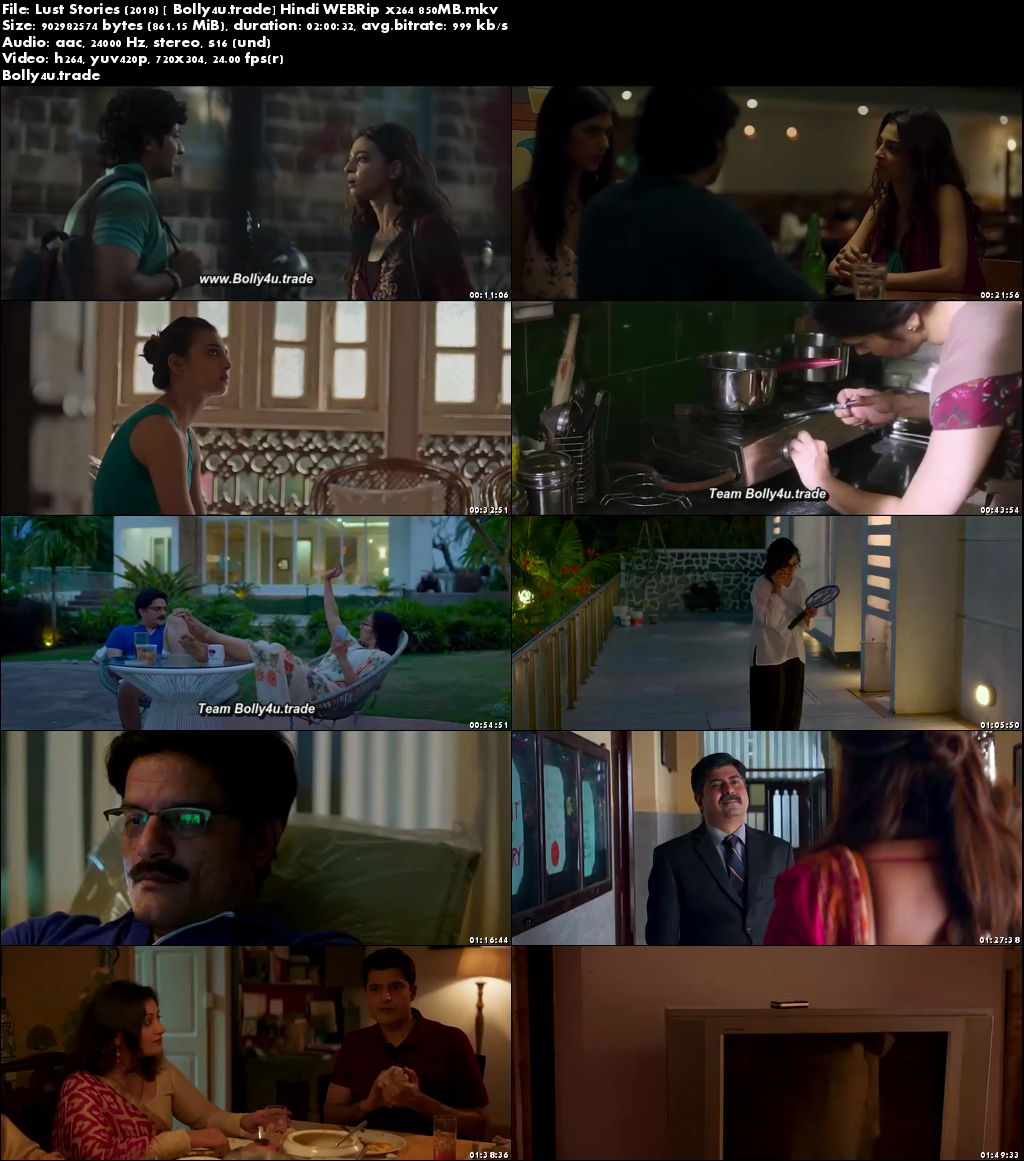 Lust Stories 2018 WEBRip 850Mb Full Hindi Movie Download x264