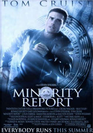 Minority Report 2002 BluRay 450MB Hindi Dual Audio 480p Watch Online Full Movie Download bolly4u