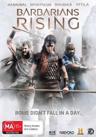 Barbarians Rising Part 1 Resistance 2016 HDTV 250MB Hindi Dual Audio 480p Watch Online Full Movie Download bolly4u