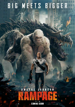 Rampage 2018 HDRip 350MB Hindi Dual Audio 480p ESub Watch Online Full Movie Download bolly4u