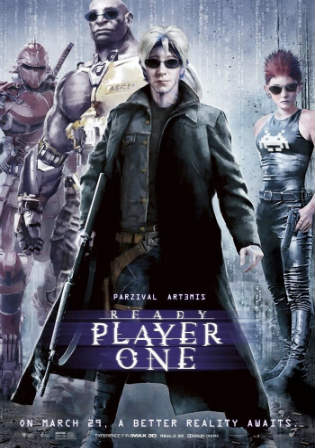 Ready Player One 2018 WEBRip 400Mb English 480p ESub Watch Online Full Movie Download bolly4u