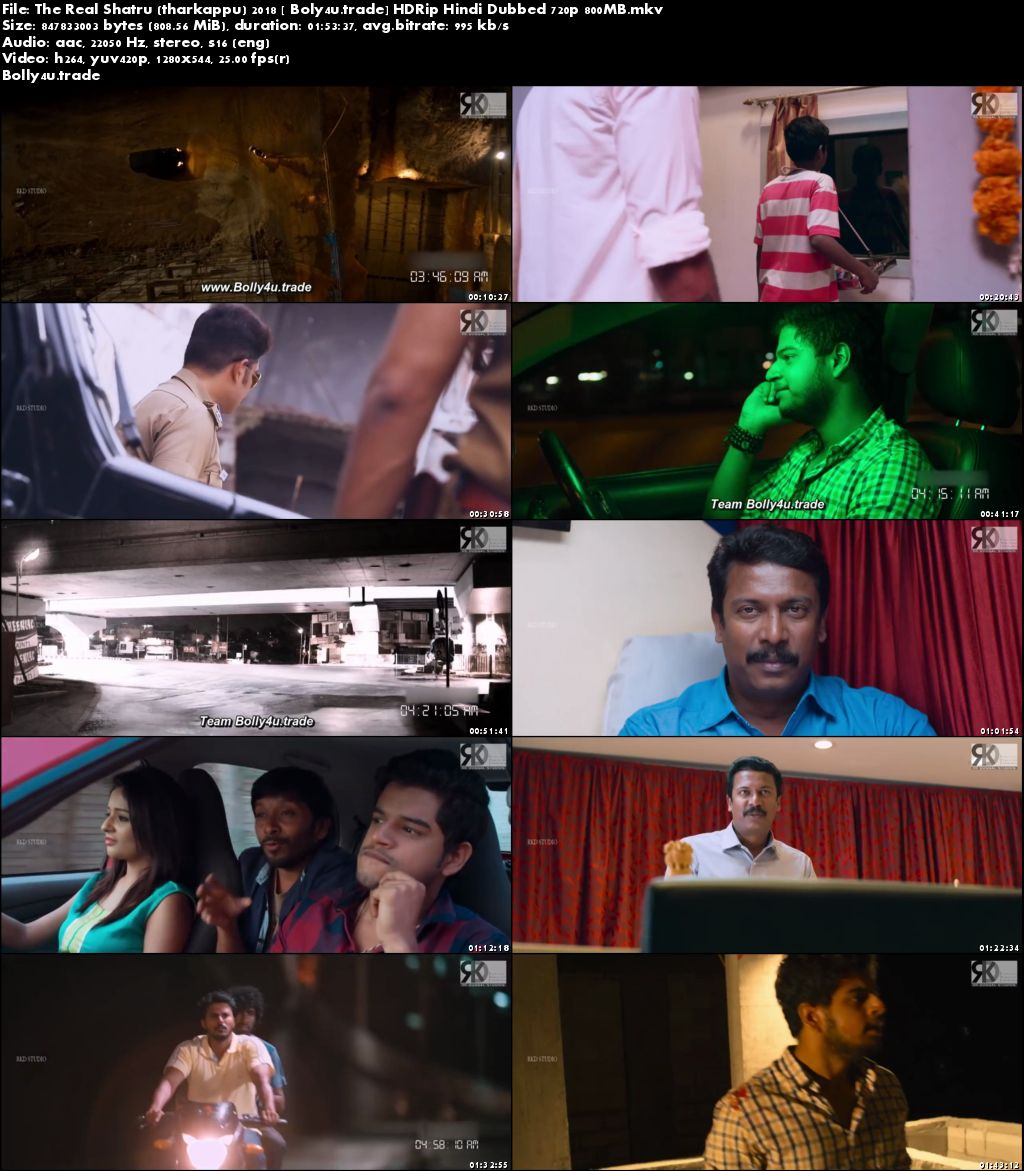 The Real Shatru 2018 HDRip 800Mb Hindi Dubbed 720p Download