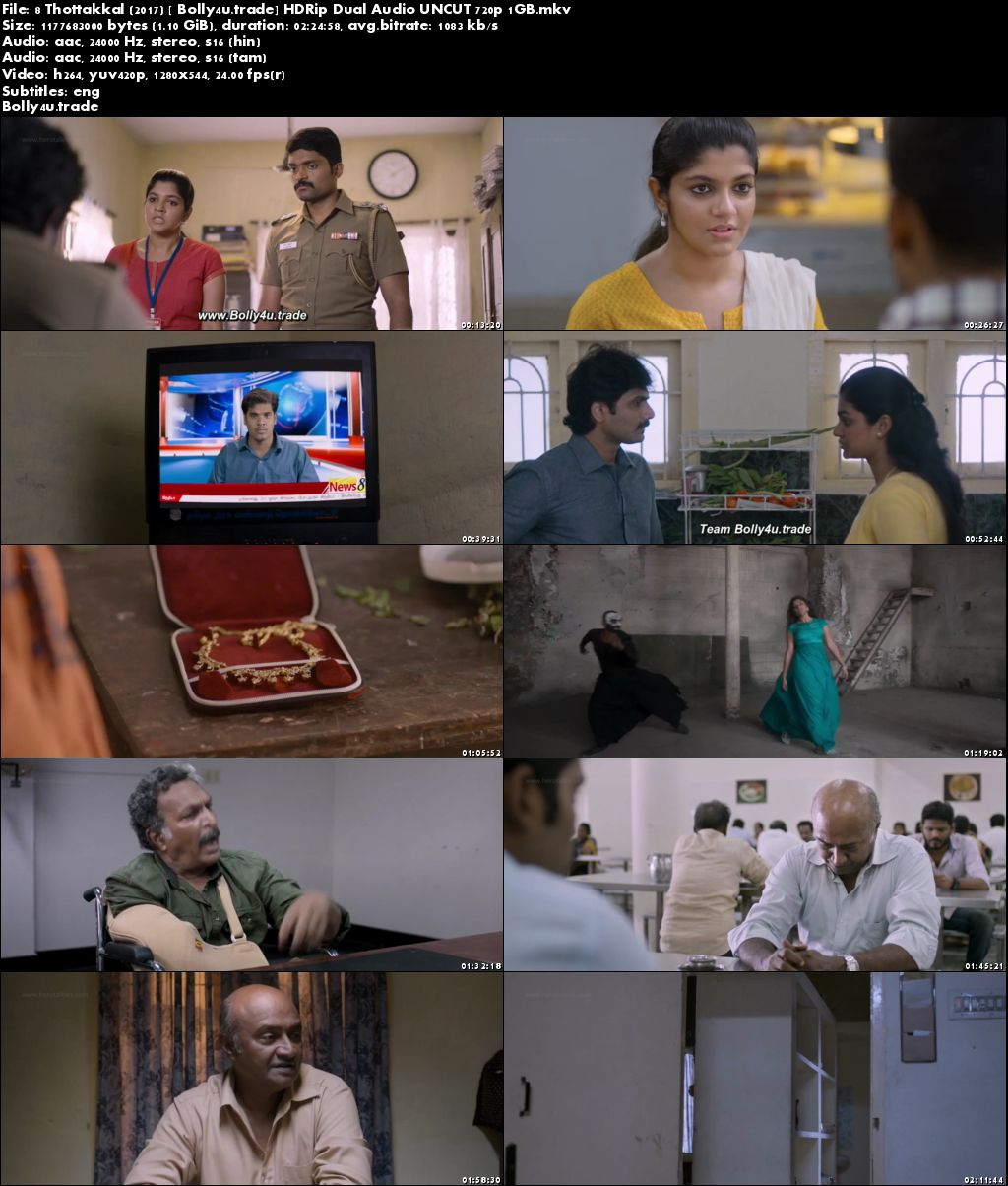 8 Thottakkal 2017 HDRip 450MB UNCUT Hindi Dual Audio 480p Download
