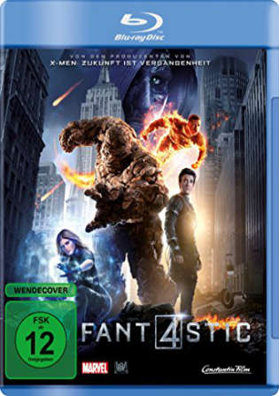 Fantastic Four 2015 BluRay 350MB Hindi Dual Audio ORG 480p ESub