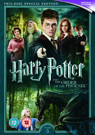 Harry Potter And The Order Of The Phoenix 2007 BRRip 400MB Hindi Dual Audio 480p Watch Online Full Movie Download bolly4u