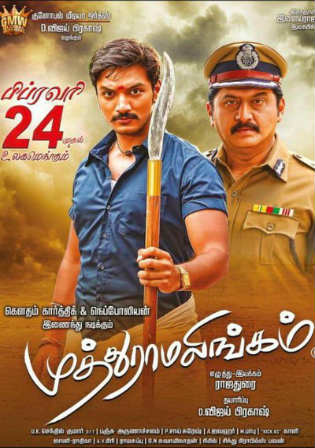 Muthuramalingam 2017 UNCUT HDRip 400MB Hindi Dual Audio 480p Watch Online Full Movie Download bolly4u