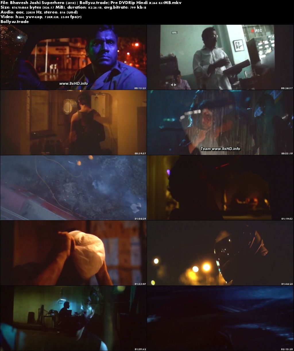 Bhavesh Joshi Superhero 2018 Pre DVDRip 800MB Hindi x264 Download