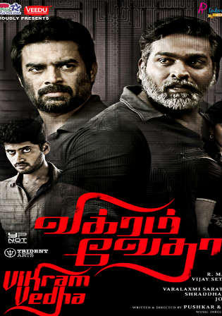 Vikram Vedha 2017 HDRip 400MB UNCUT Hindi Dual Audio 480p Watch Online Full Movie Download bolly4u