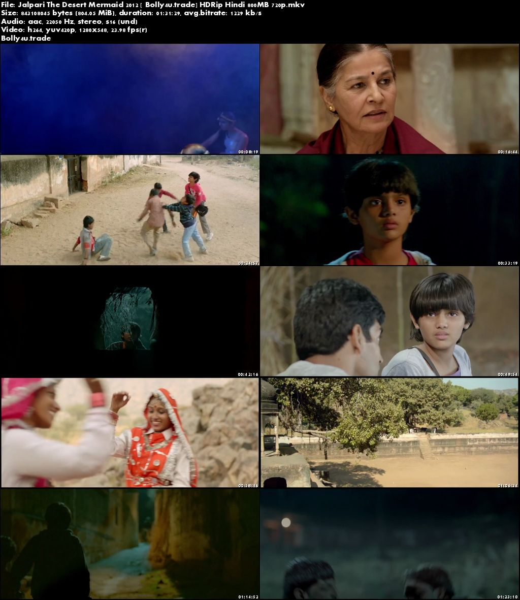 Jalpari The Desert Mermaid 2012 HDRip 800MB Hindi 720p Download