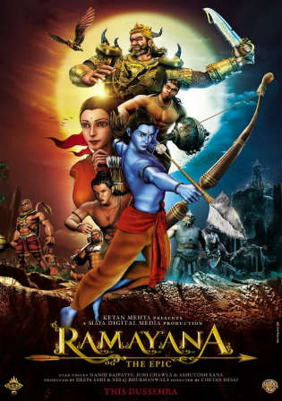 Ramayana The Epic 2010 BluRay 300MB Hindi 480p Watch Online Full Movie Download Worldfree4u 9xmovies