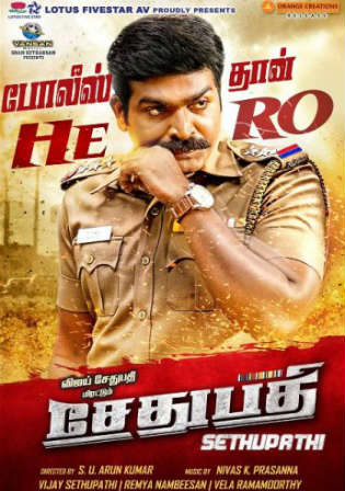 Sethupathi 2016 HDRip 950Mb UNCUT Hindi Dual Audio 720p Watch Online Full Movie Download bolly4u
