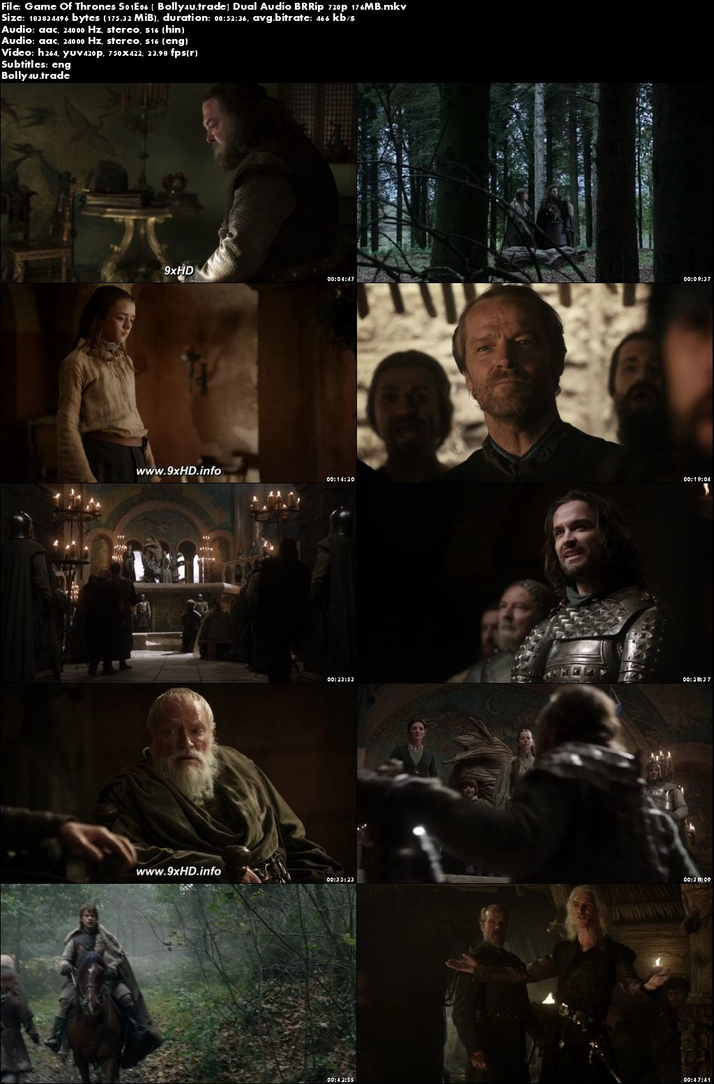 Game of Thrones S04 Hindi Dual Audio 720p BluRay [Ep 01 ...