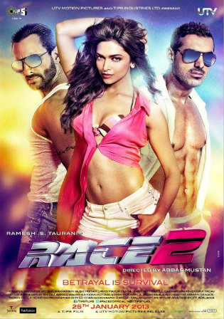 Race 2 2013 DVDRip 1Gb Full Hindi Movie Download 720p Watch Online Free bolly4u