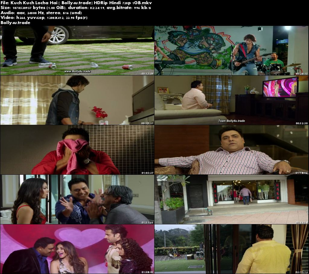 Kuch Kuch Locha Hai 2015 HDRip 1GB Full Hindi Movie Download 720p