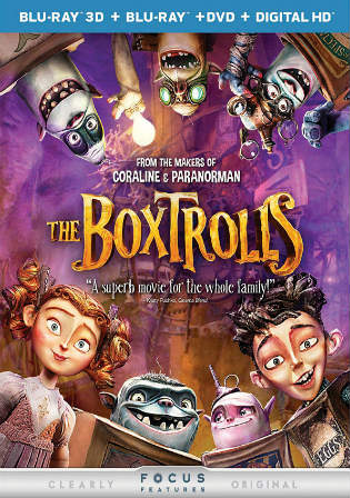 The Boxtrolls 2014 BluRay 650Mb Hindi Dubbed Dual Audio 720p Watch Online Full Movie Download bolly4u