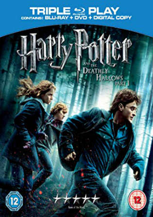 Harry Potter And The Deathly Hallows Part 1 2010 BRRip 450MB Hindi Dual Audio 480p Watch Online Full Movie Download bolly4u