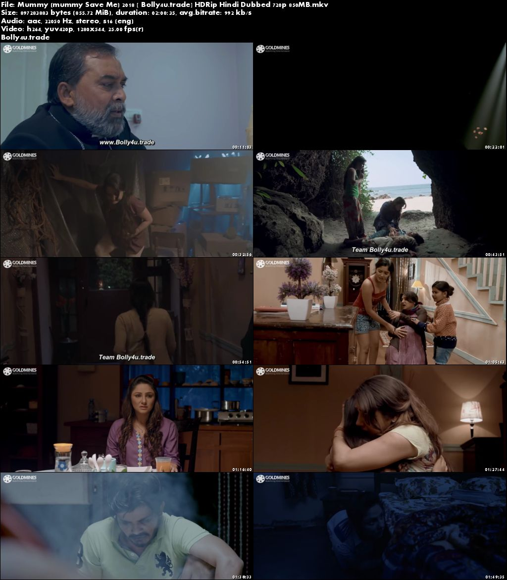 Mummy 2018 HDRip 350MB Full Hindi Dubbed Movie Download 480p