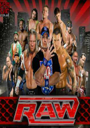 WWE Monday Night Raw HDTV 480p 400MB 09 July 2018 Watch Online Free Download bolly4u