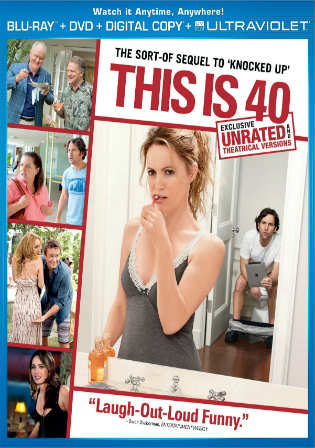 This Is 40 2012 BluRay 750MB UNRATED Hindi Dual Audio 720p Watch Online Full Movie Download bolly4u