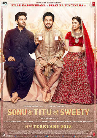 Sonu Ke Titu Ki Sweety 2018 DVDRip 400Mb Full Hindi Movie Download 480p Watch Online Free bolly4u