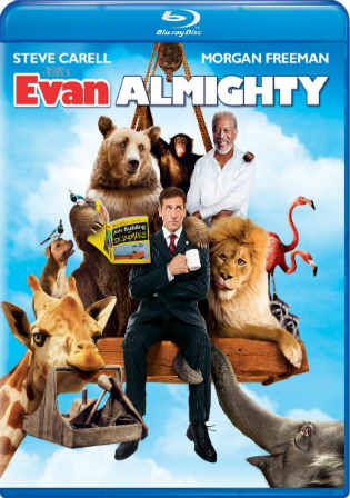 Evan Almighty 2007 BluRay 300Mb Hindi Dual Audio 480p Watch Online Full Movie Download bolly4u