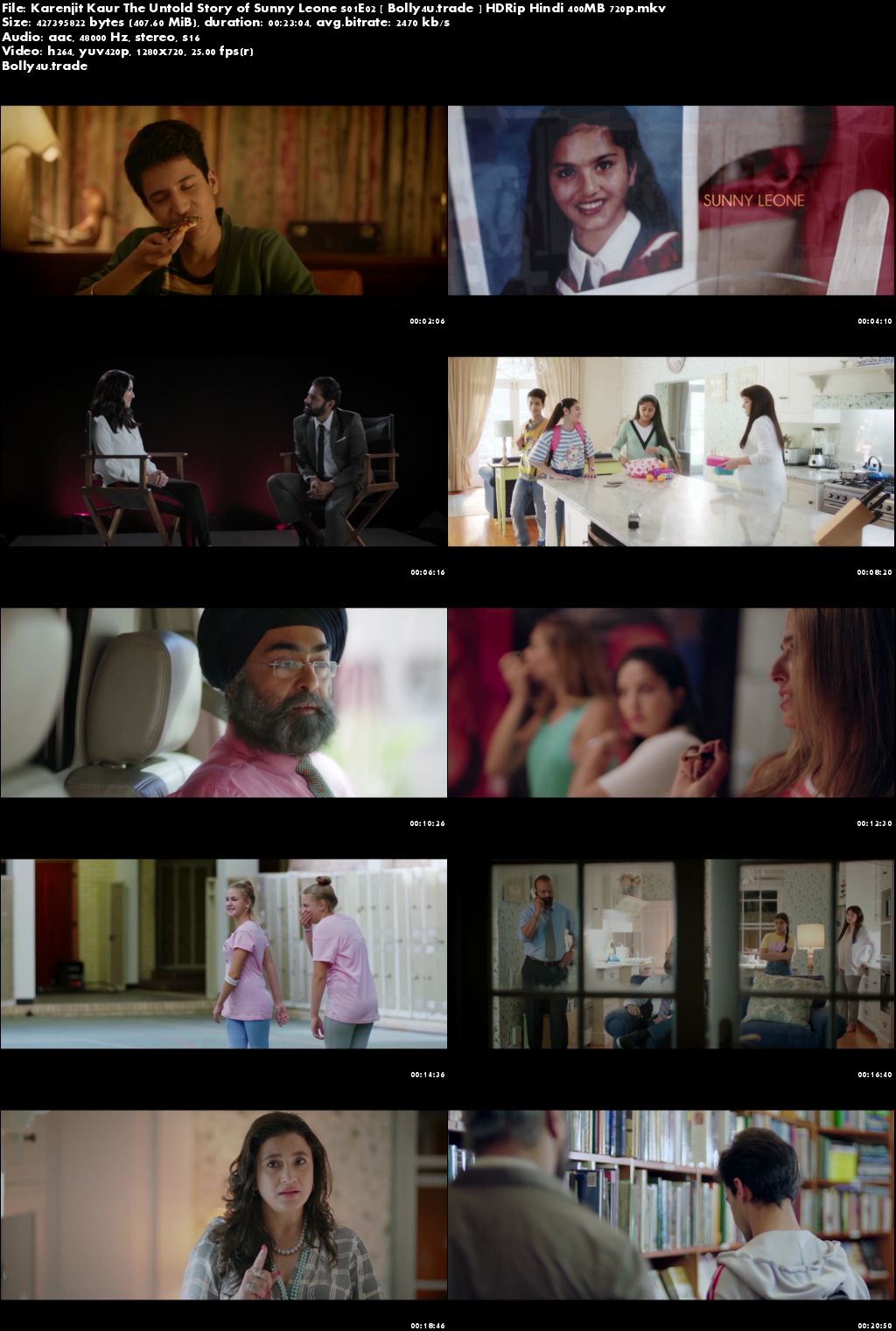 Karenjit Kaur The Untold Story of Sunny Leone S01E02 HDRip 400MB Hindi 720p Download