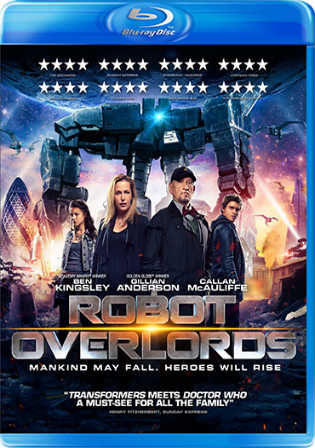 Robot Overlords 2014 BluRay 300MB Hindi Dubbed Dual Audio 480p Watch Online Full Movie Download Worldfree4u 9xmovies