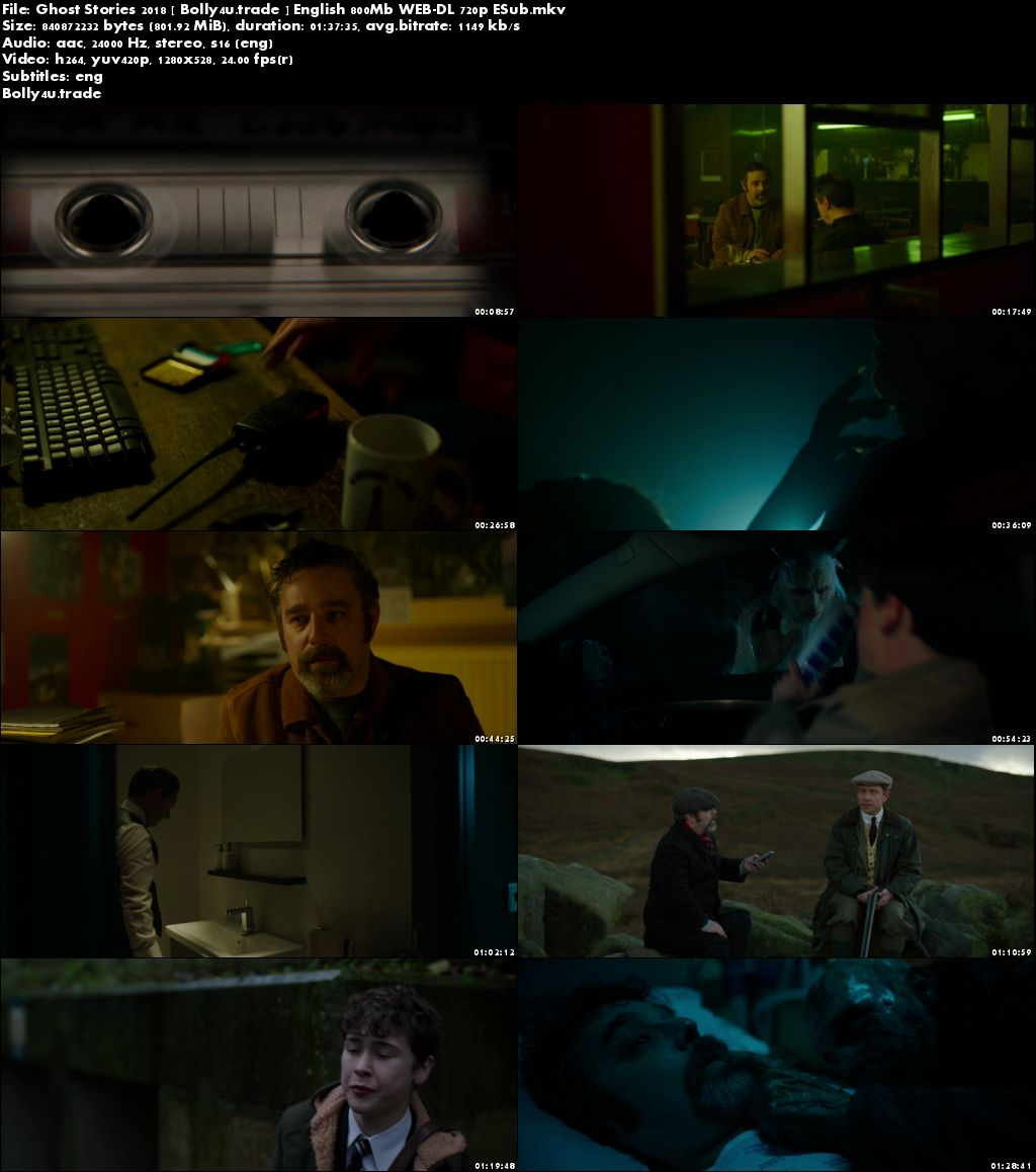 Ghost Stories 2018 WEB-DL 800MB English 720p ESub Download