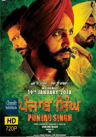 Punjab Singh 2018 HDRip 480p Full Punjabi Movie Download 400MB Watch Online Free Worldfree4u 9xmovies