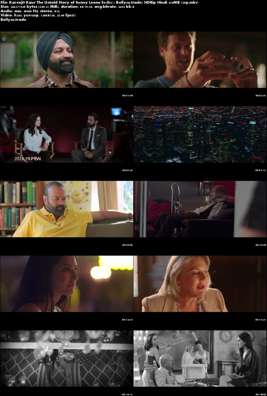 Karenjit Kaur The Untold Story of Sunny Leone S01E05 HDRip 350MB Hindi 720p Download