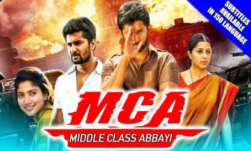 MCA Middle Class Abbayi 2018 HDRip 800MB Hindi Dubbed 720p Watch Online Full Movie Download Worldfree4u 9xmovies