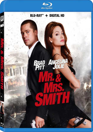 Mr & Mrs Smith 2005 Directors Cut BRRip 950MB Hindi Dual Audio 720p Watch Online Full Movie Download bolly4u