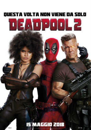 Deadpool 2 2018 HC HDRip 400MB Hindi Dubbed Dual Audio 480p Watch Online Full Movie Download bolly4u