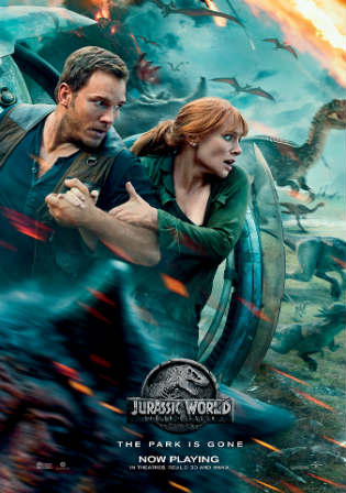 Jurassic World Fallen Kingdom 2018 HC HDRip 400MB Hindi Dual Audio 480p Watch Online Full Movie Download bolly4u
