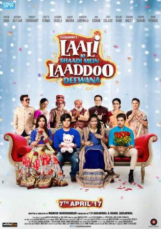 Laali Ki Shaadi Mein Laaddoo Deewana 2017 HDTV 350MB Hindi Movie 480p Watch Online Full Movie Download bolly4u