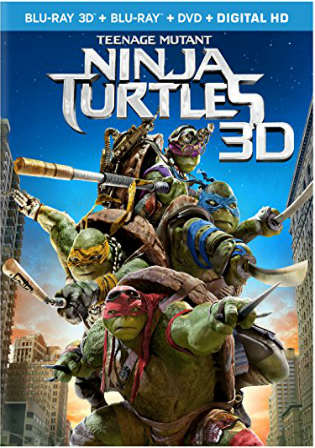 Teenage Mutant Ninja Turtles 2014 BRRip 350Mb Hindi Dual Audio 480p Watch Online Full Movie Download bolly4u